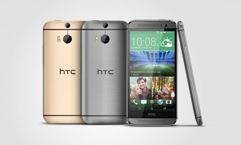 HTC One M8 Gunmetal, Gold