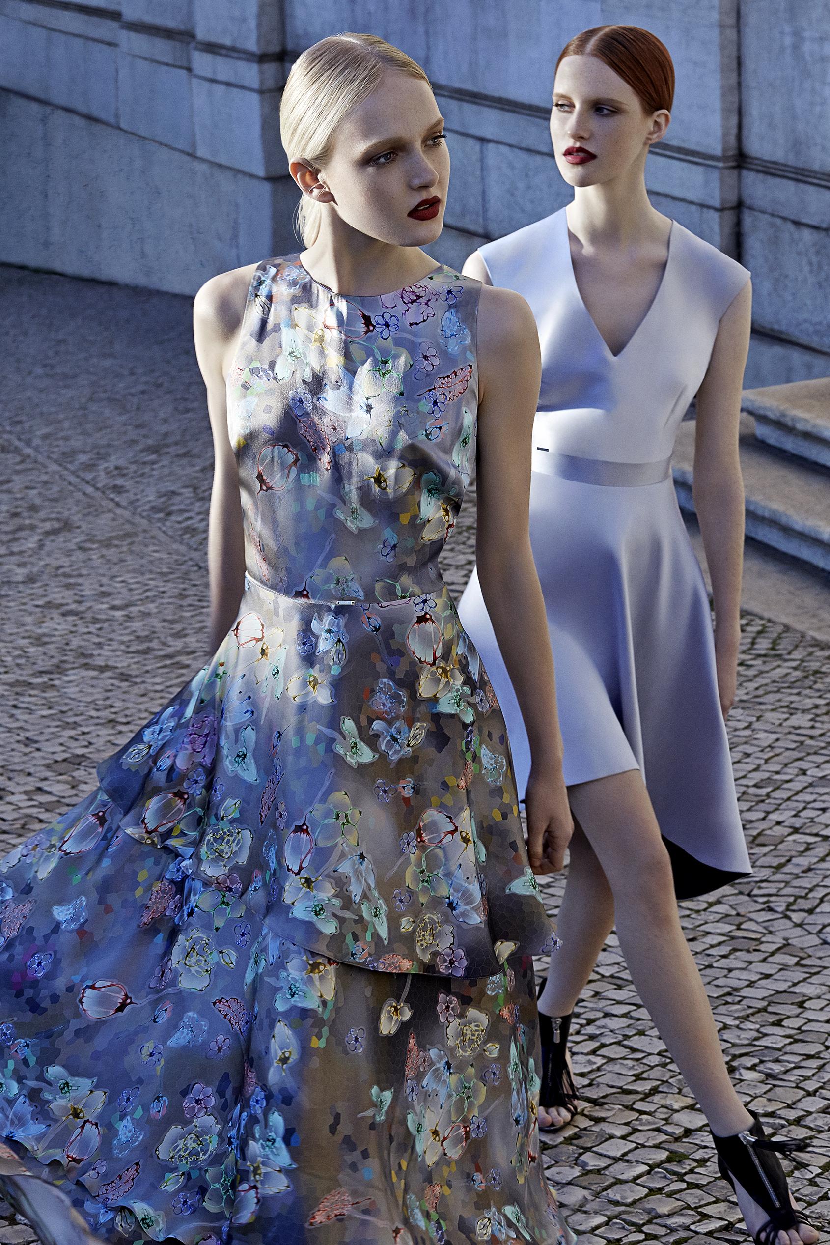 1da5a3cabf Kolekcja Simple CP na wiosnę lato 2015 czerpie inspiracje z twórczości Soni  Delaunay malarki