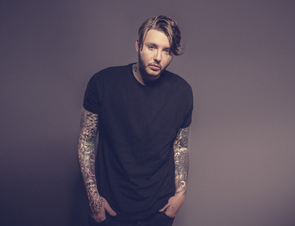 James Arthur photographed in London on 30 April 2015. Photo by: Carsten Windhorst / FRPAP.com
