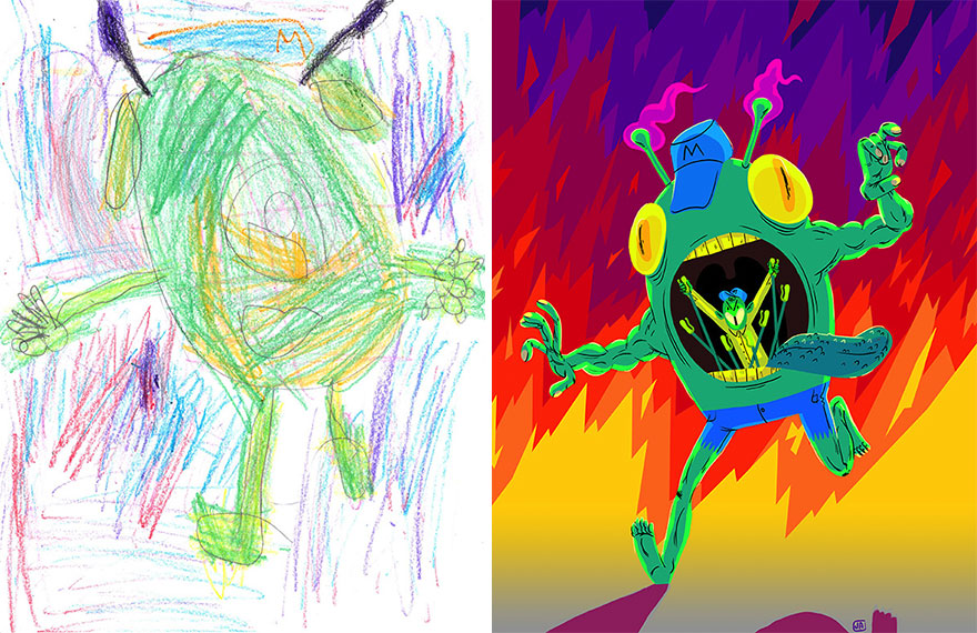 go-monster-project-kids-drawings-inspire-artists-54__880