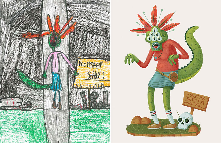 go-monster-project-kids-drawings-inspire-artists-78__880