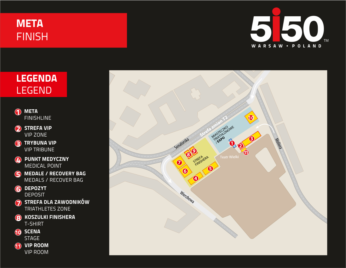 5150 organizacja mety