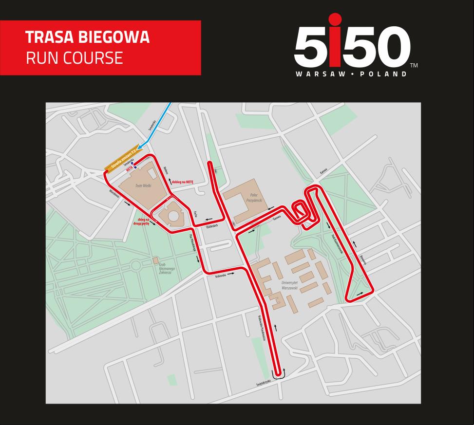 5150 trasa biegowa
