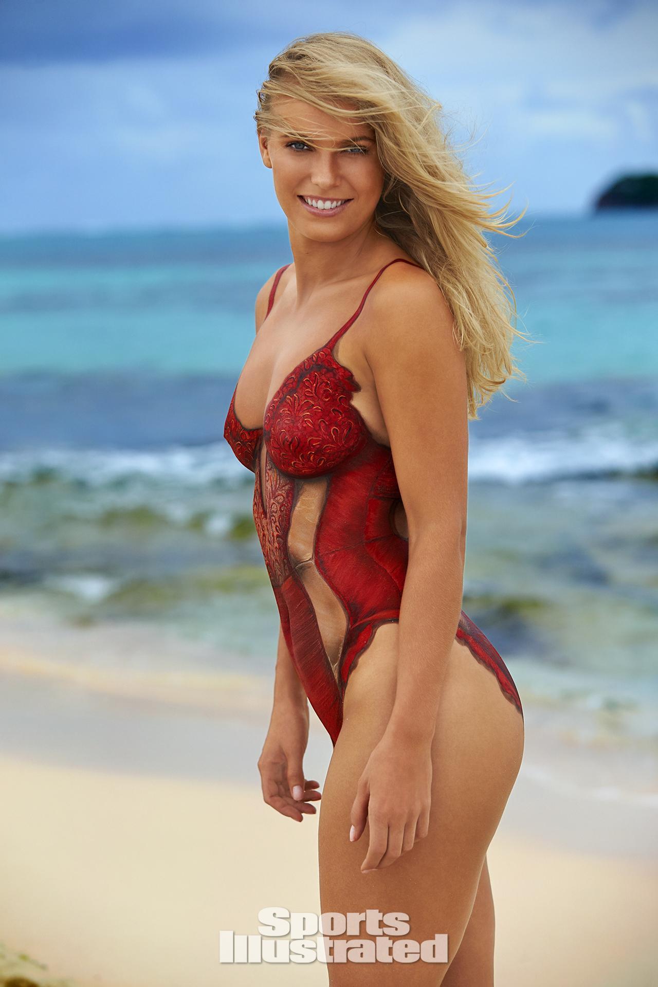 Caroline Wozniacki, Ronda Rousey, Irina Shayk nago w sesji dla Sports ...