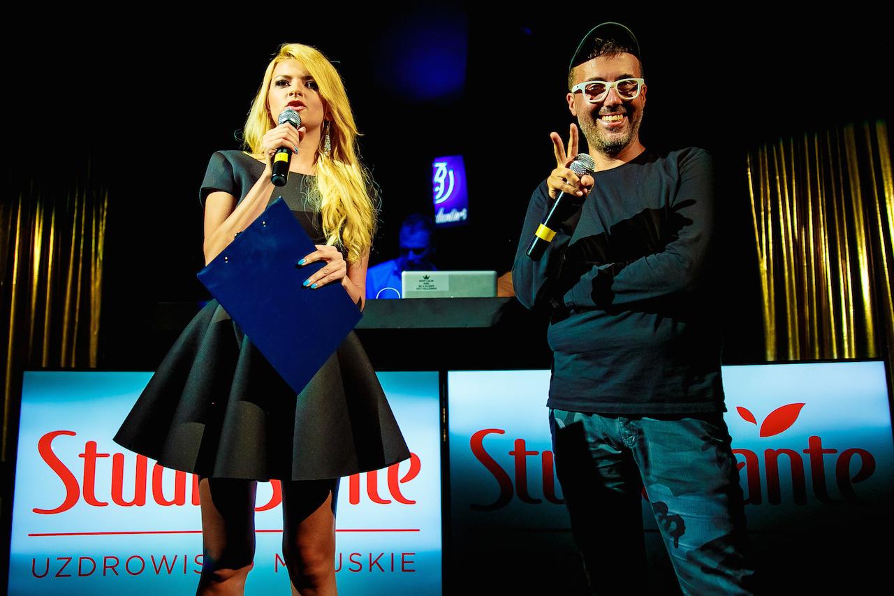 Klaudia Wisniowska i DJ Adamus, fot. Bartko Debkowski _ Kreatyw!Media.pl