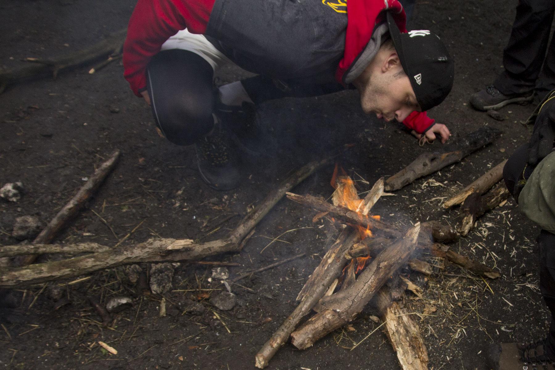 Podtrzymujemy ogień
