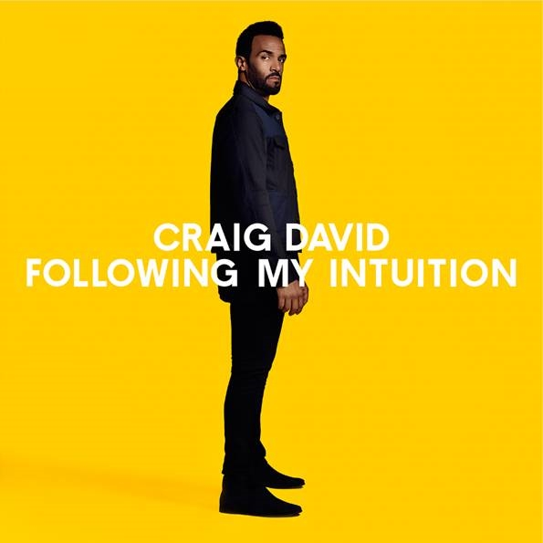 Craig David Following My Intuition cover CD standard