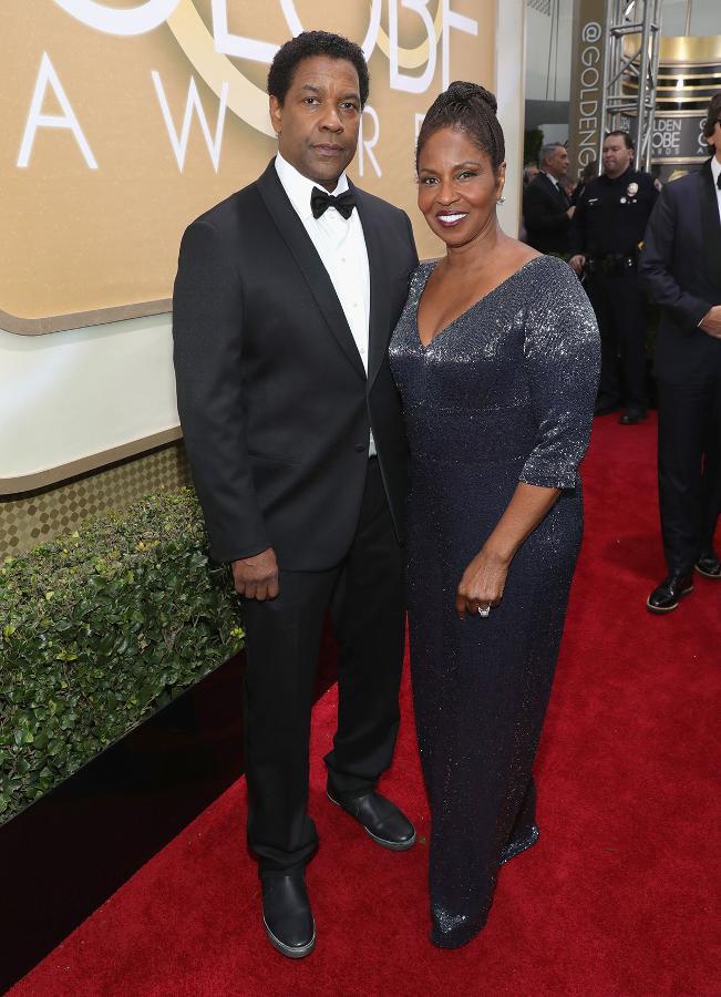 Denzel Washington i Pauletta Washington