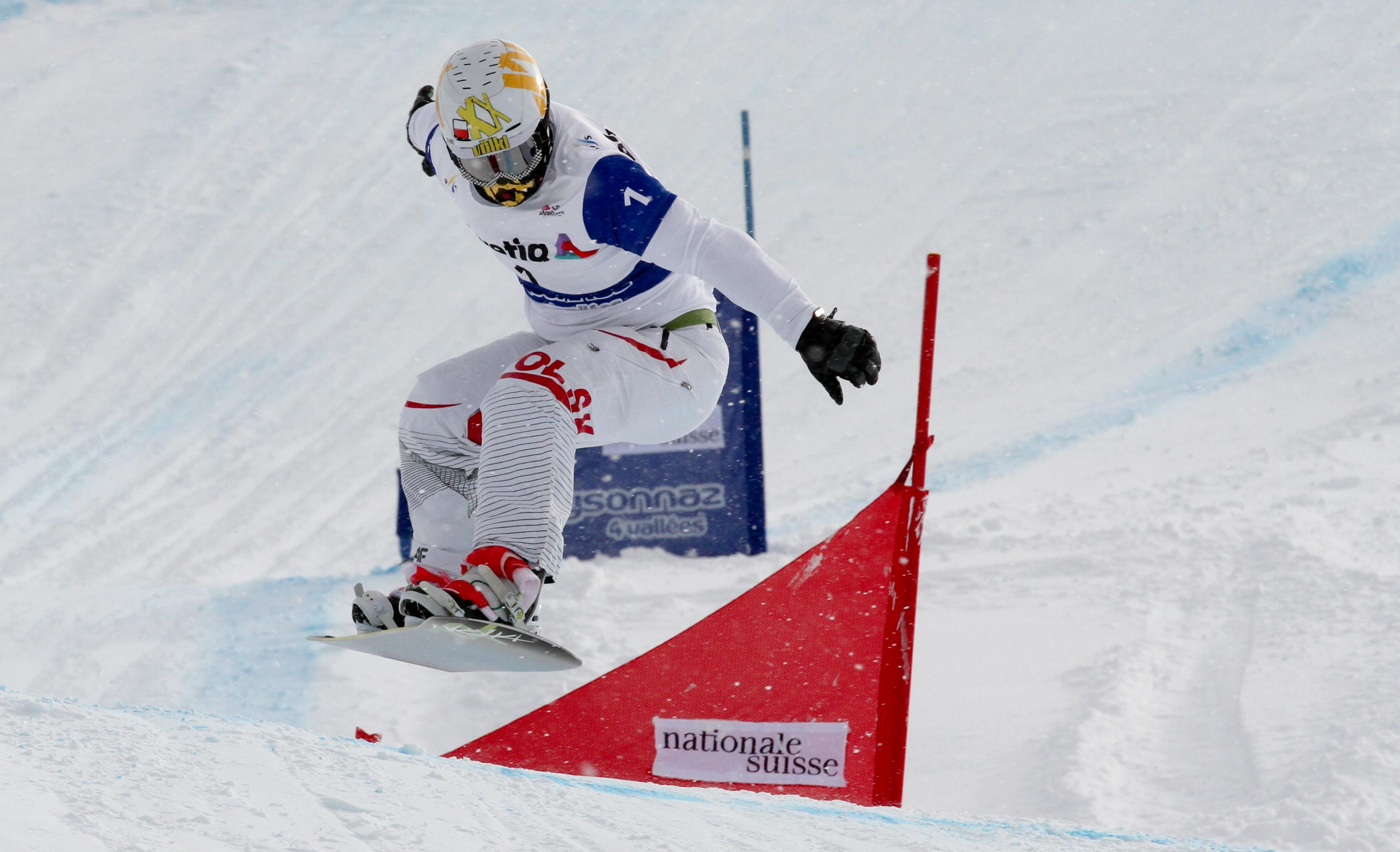 SBX World Cup Veysonnaz - Qualifiers SBX 2 - Mateusz Ligocki (POL)