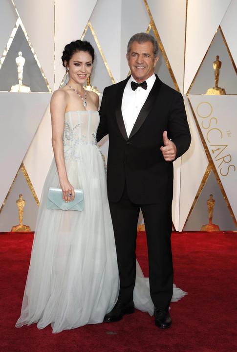 Mel Gibson i Rosalind Ross