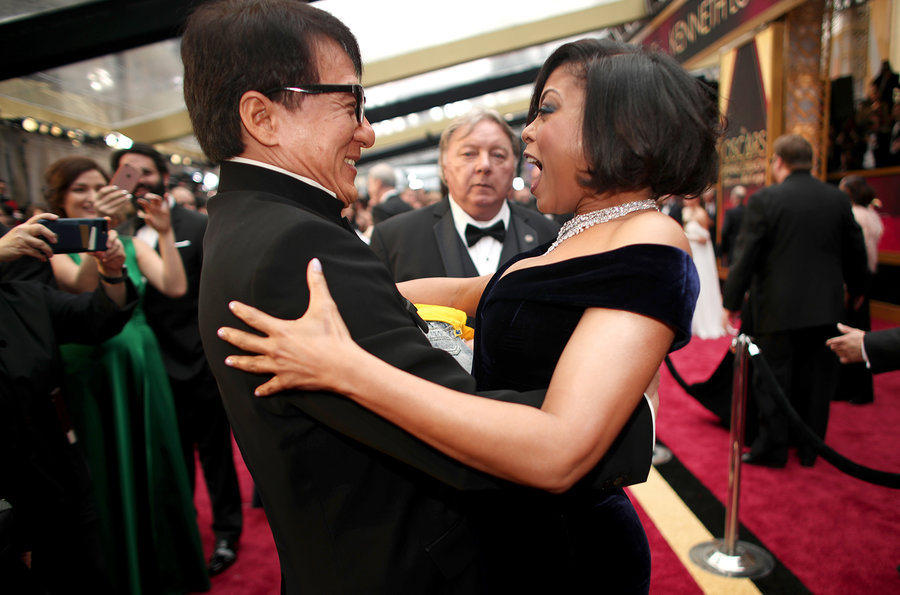 Jackie Chan Taraji Henson