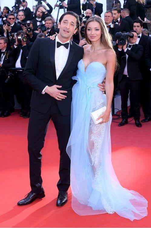 Adrien Brody i Lara Lieto