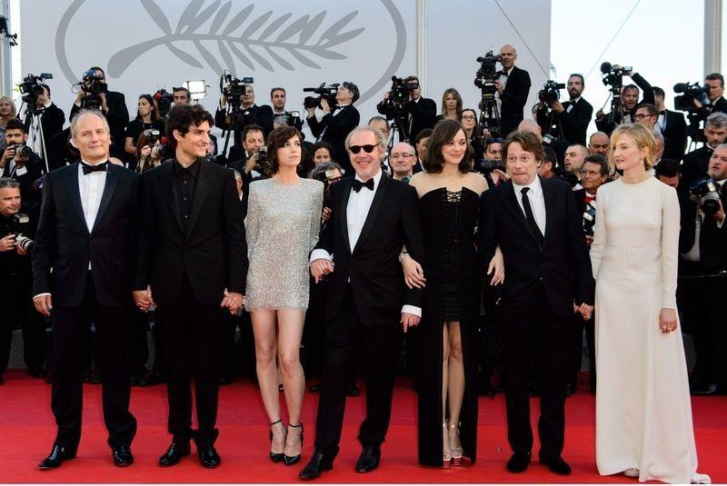 Arnaud Desplechin, Louis Garrel, Charlotte Gainsbourg, Hippolyte Girardot, Marion Cotillard, Mathieu Amalric i Alba Rohrwache