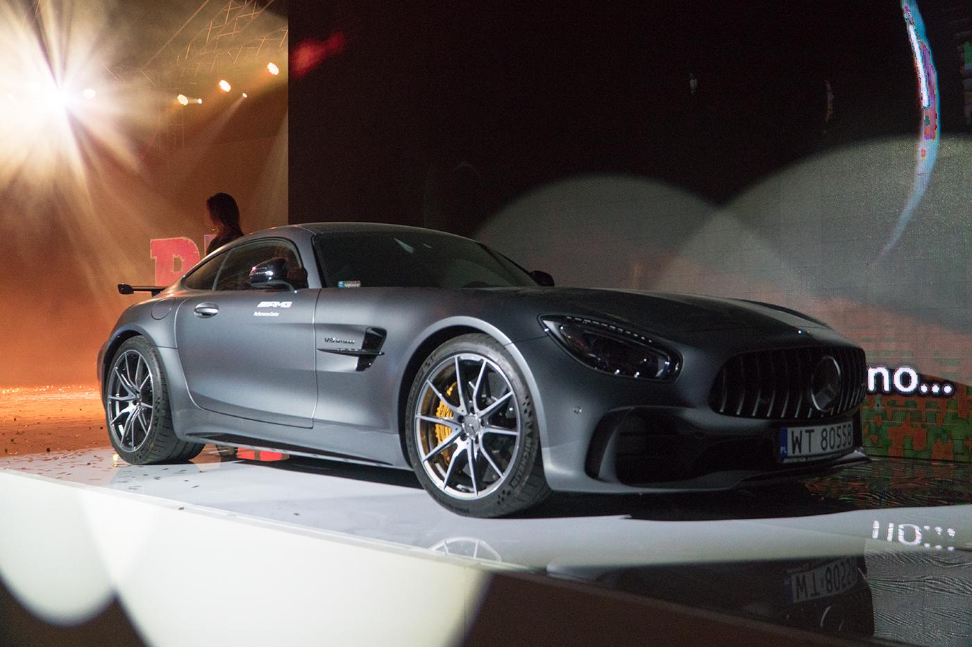 Samochód Roku Playboya Mercedes-AMG G TR