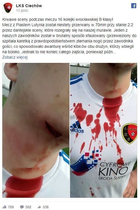 fot. facebook ŁKS Ciechów