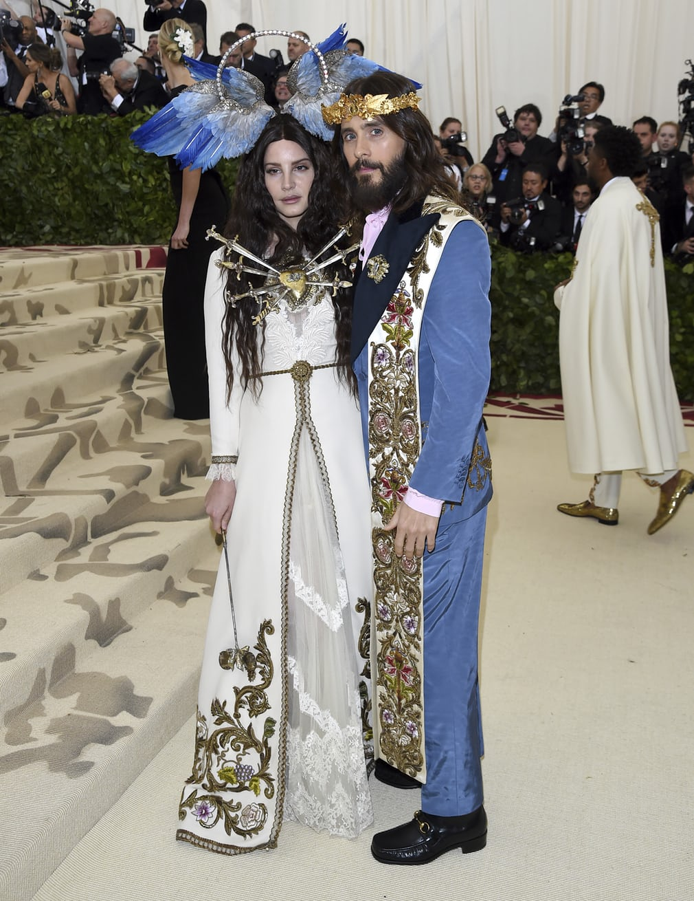 Lana Del Rey and Jared Leto
