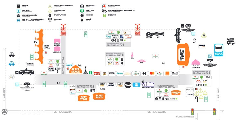 Mapka festiwalowa /opener.pl