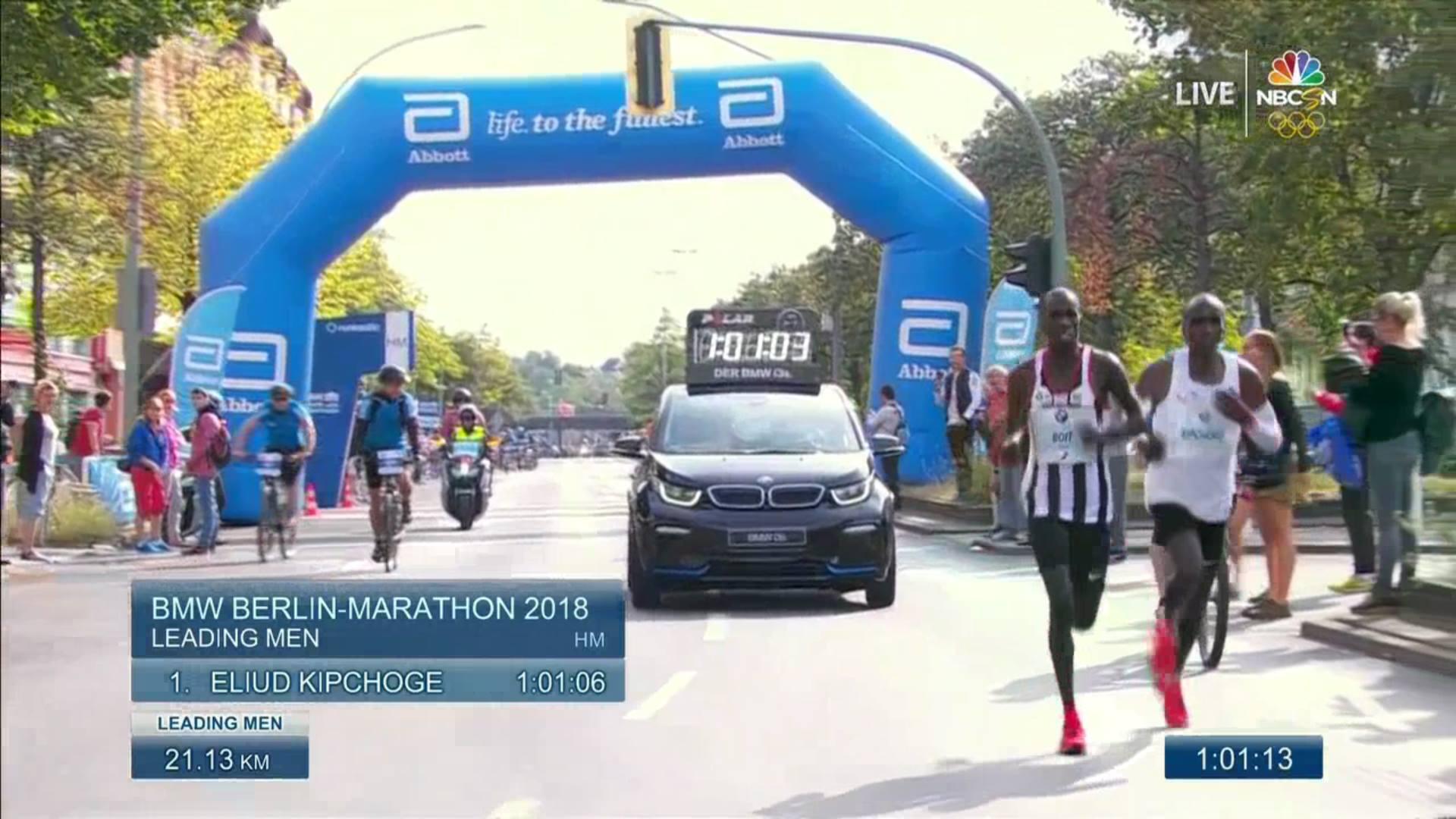 fot. Berlin Marathon Stream NBC live