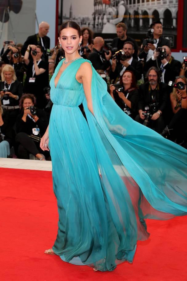 Alberta Ferretti blue couture  fot. Getty Images