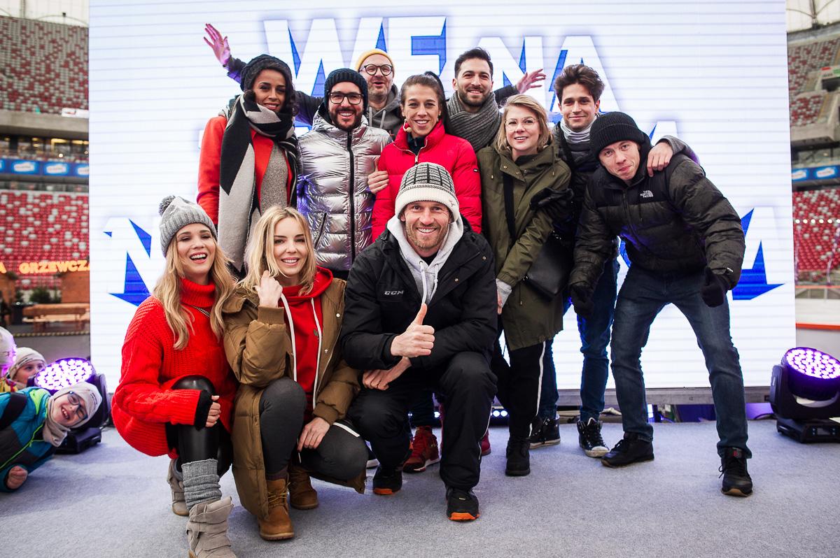 Lekcja WF-u na Zimowym Narodowym