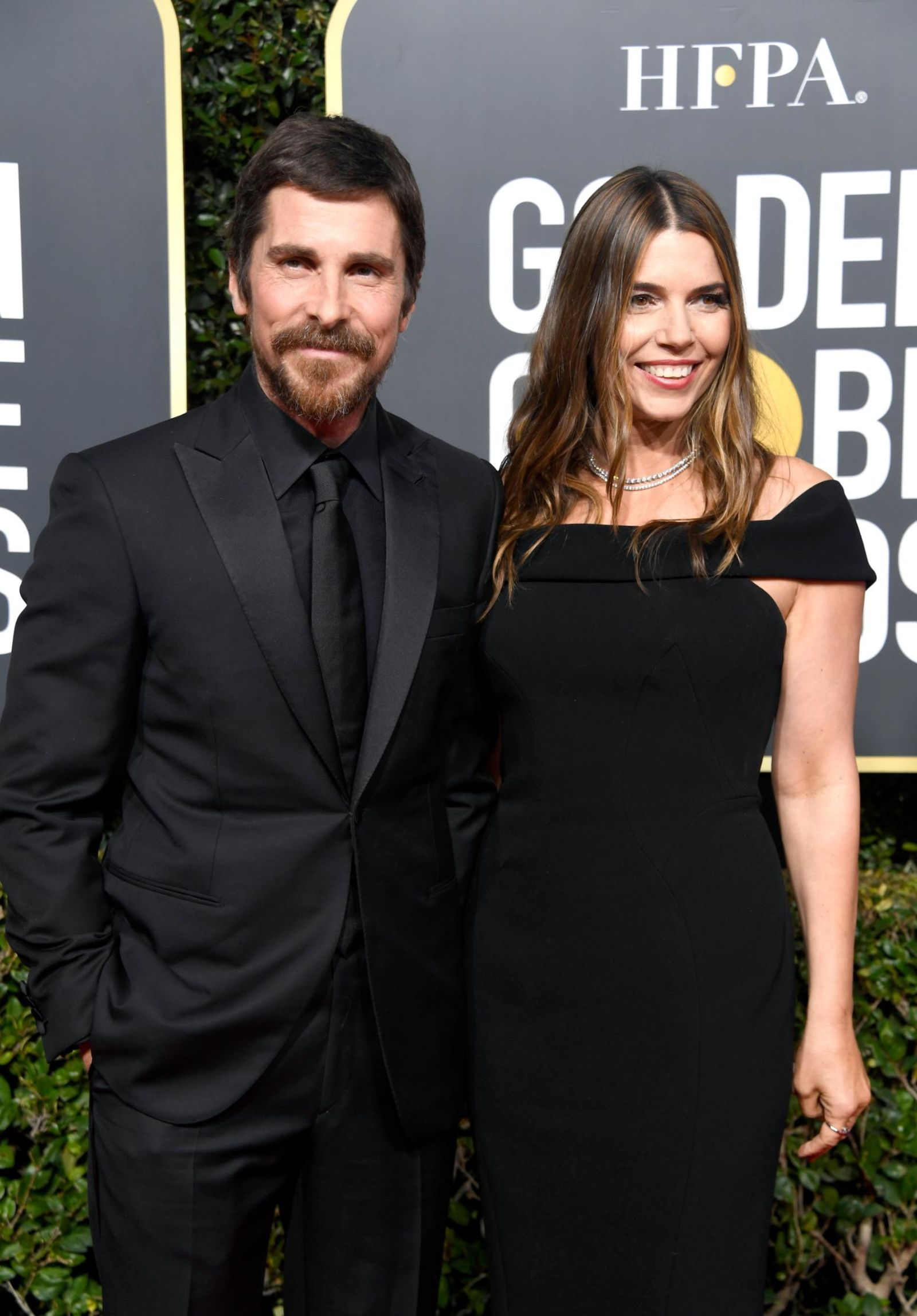 Christian Bale z żoną