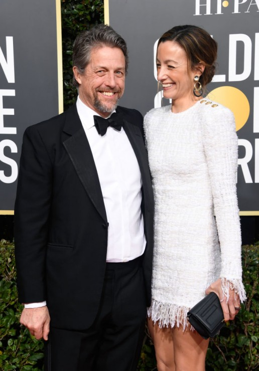 Hugh Grant z żoną