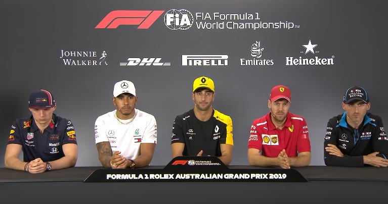 Screen YT Formula 1