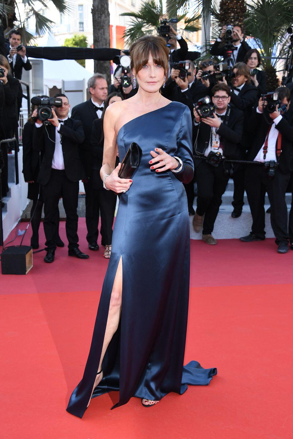 Celine dress & Bulgari jewellery.  fot. Getty Images