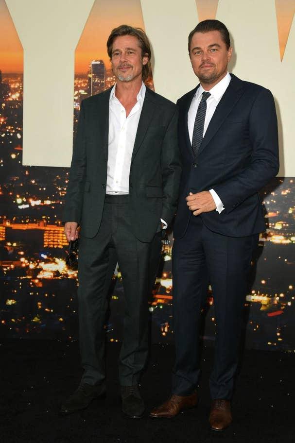 Brad Pitt & Leonardo DiCaprio