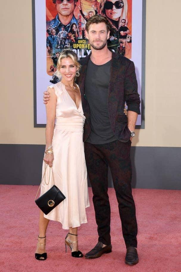 Chris Hemsworth & żona Elsa Pataky