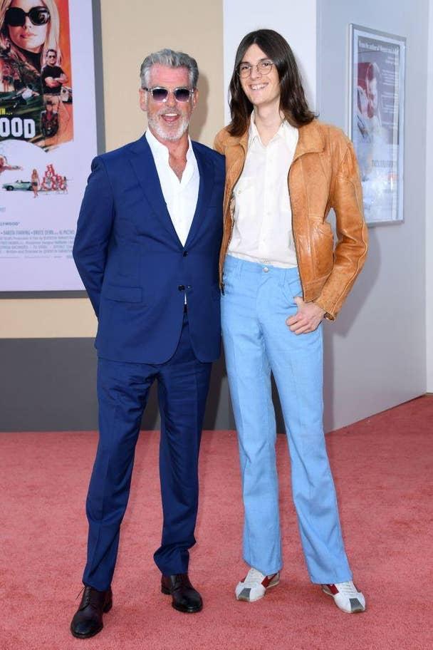 Pierce Brosnan &  syn Dylan Brosnan